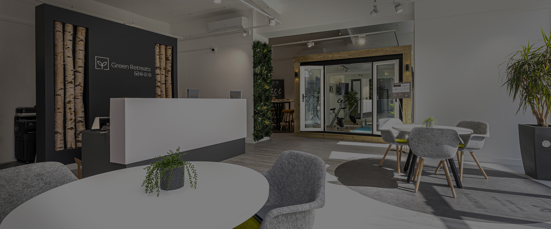 green retreats London office fit out