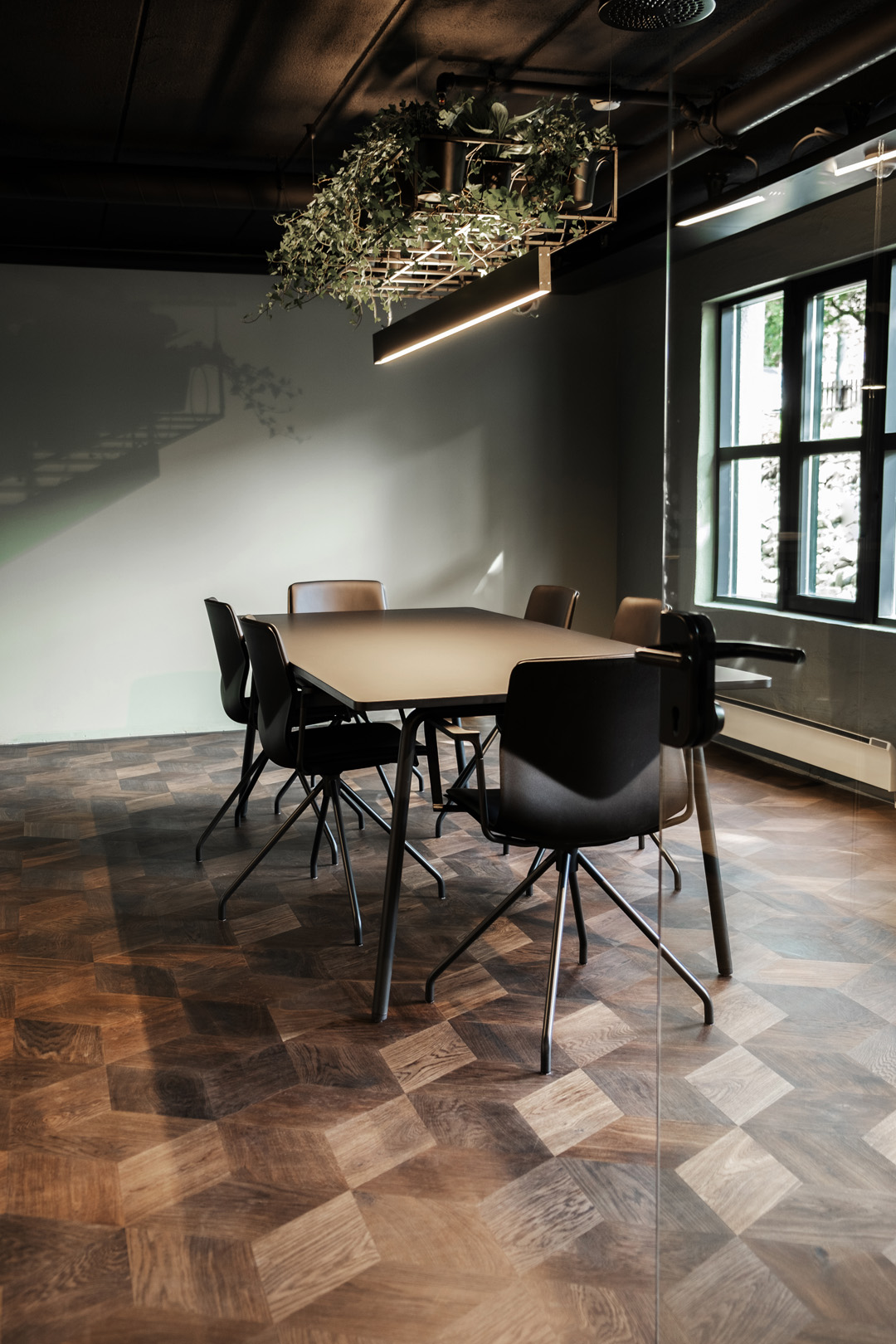 modern boardroom design and fit out