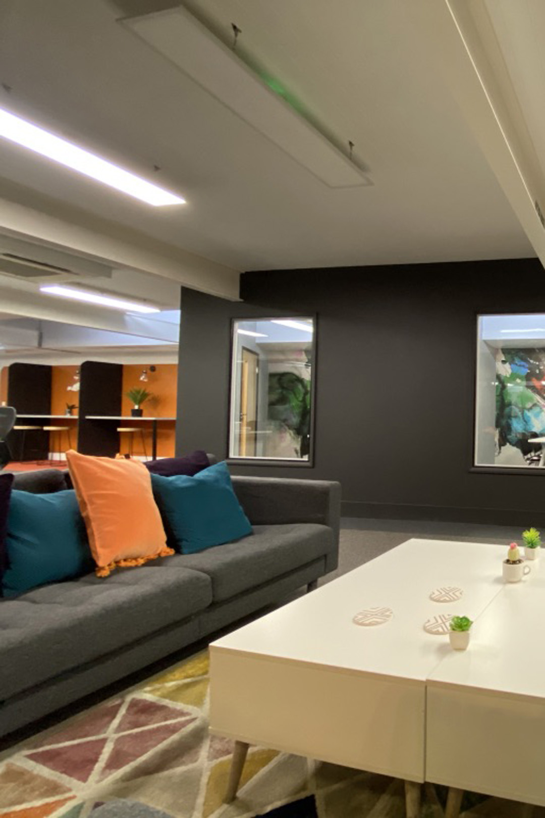 office furniture and decor
