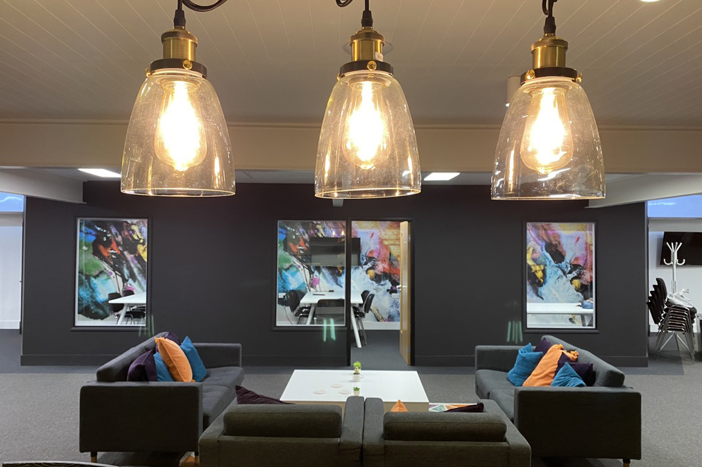 Anatwine office fit out